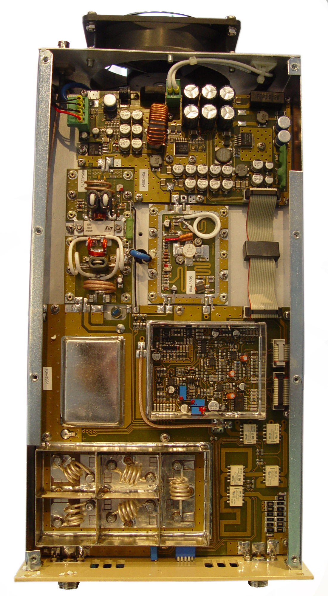 Electronic Studio Rf Amplifiers Linear Amplifier Fm 80 To 135 Mhz Am Vhf Receiver Circuit Board Design Larger Picture